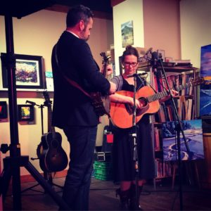 Pharis & Jason Romero perform at the Clawhammer Gallery • March 2016